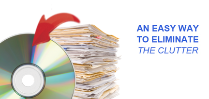 Document Scanning & Imaging Services is an easy way to eliminate clutter