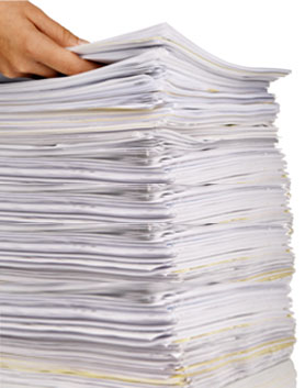 Document Scanning Piles of Paper